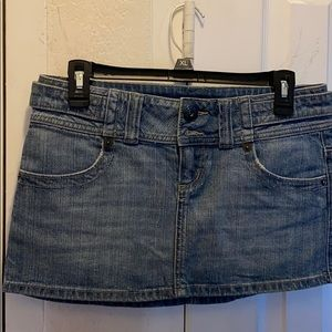 Guess jean skirts